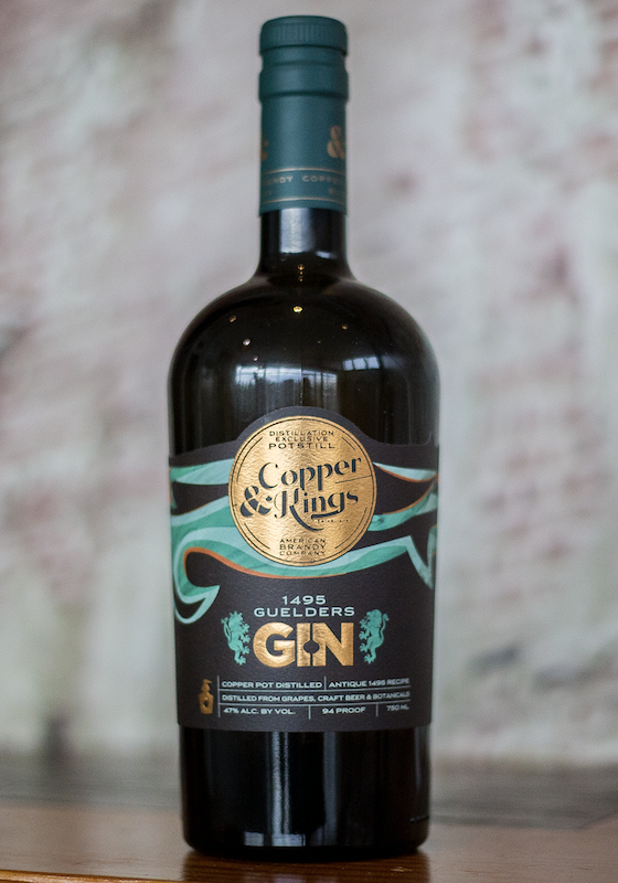 Copper & Kings moved into the gin space in 2017. One of its special releases is its 1495 Guelder's gin (pictured).