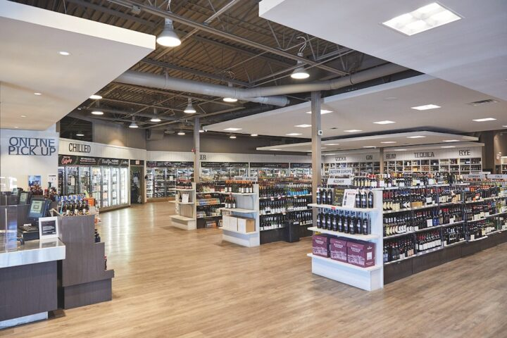 Willow Park Wines & Spirits (flagship Calgary unit interior pictured) has established the biggest privately held beverage alcohol retail business in all of Canada.