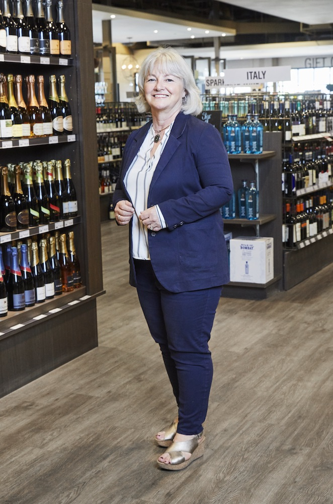 Willow Park Wines & Spirits CEO Peggy Perry (pictured) has dedicated herself to helping the company succeed, broadening its consumer base by offering a wide assortment of products.