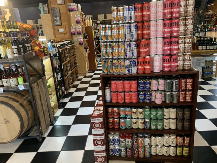 In the fall, Boutique Wines, Spirits & Ciders in Fishkill, New York sees a spike in customers looking for cider offerings.