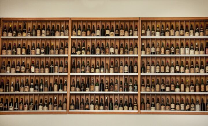 While wine is the primary focus at Morrell, high-end spirits (shelving pictured) have grown in volume, with luxury Bourbons, Japanese whiskies, and rare Cognacs among the retailer's most popular offerings.