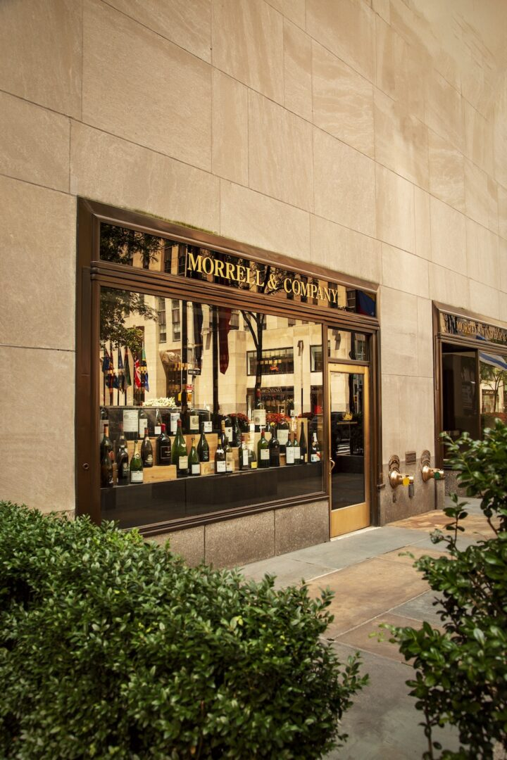 Morrell has had a brick-and-mortar presence since 1947, when brothers Samuel and Joseph Morrell opened the original storefront in Midtown Manhattan. Today, the retailer is located at cultural hub Rockefeller Center (exterior pictured).