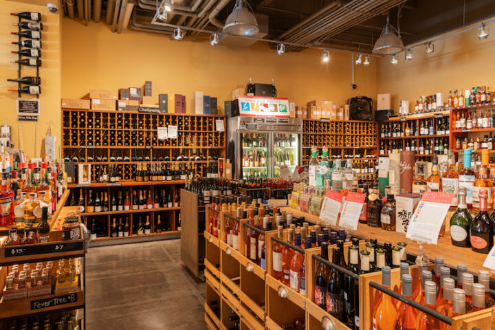 Ferry Plaza Wine Merchant & Wine Bar (interior pictured) is a 2,800-square-foot store located inside San Francisco's Ferry Building. The store faced its challenges at the onset of the Covid-19 pandemic, but at press time was back to more normal retail operations.