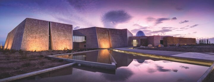 Chicago-based importer and marketer Winesellers, Ltd. handles two Argentinian labels, Bodegas Zuccardi (winery pictured) and Santa Julia, both of which play at the super-premium end of the category. Winesellers highlights its brands' regionality, especially in the Uco Valley.