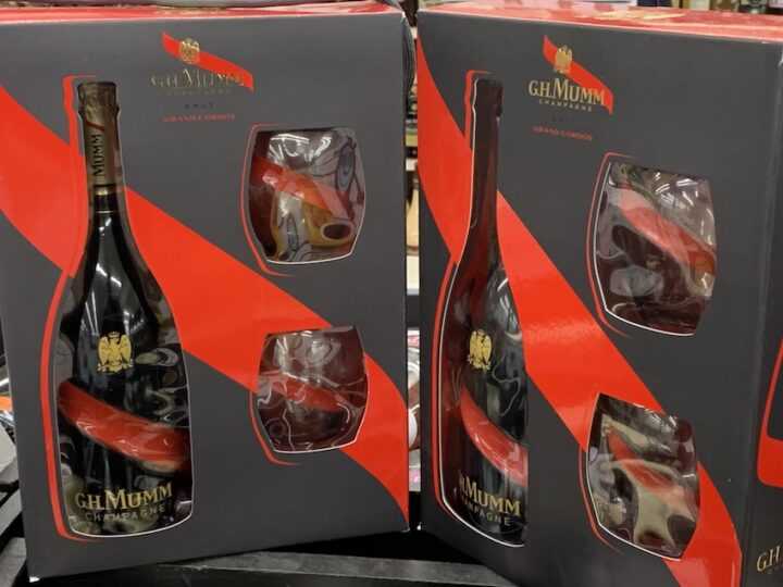 At Viscount Wines & Liquors in WAppingers Falls, New York, gift sets from brands such as Mumm Champagne are top sellers with customers.