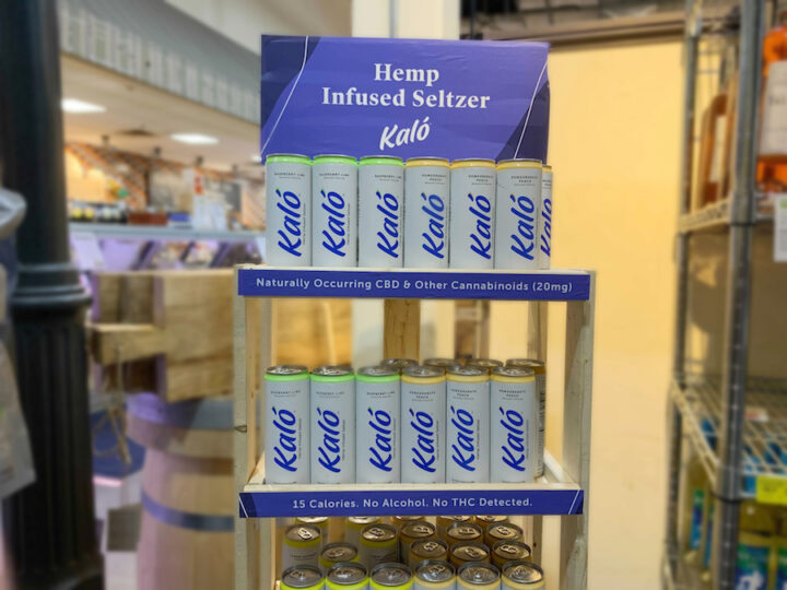 New Jersey-based Gary's Wine & Marketplace sees success with Kalo Hemp Infused Seltzer (display at Wayne, New Jersey location pictured).