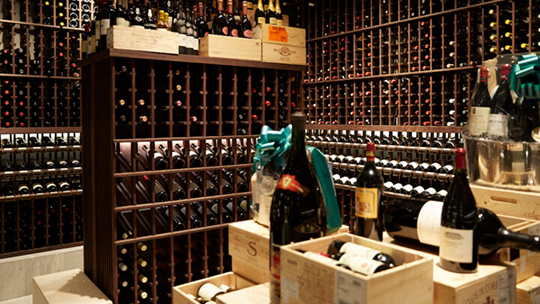 Wally's Wine and Spirits (Beverly hills wine room pictured) faced major challenges at the onset of Covid-19, as half of the company's business is on-premise. Wally's two stores quickly switched gears to re-emphasize on just the retail aspect of the business.