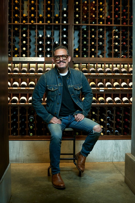 Champagne and other sparklers have been extra enticing for customers at Wally's Wine & Spirits in Los Angeles this year as they adapt to the pandemic, says president and principal Christian Navarro (pictured).