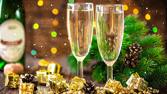Retailers are seeing a major boost in sales during the holiday season thanks to Champagne and other sparkling wines.