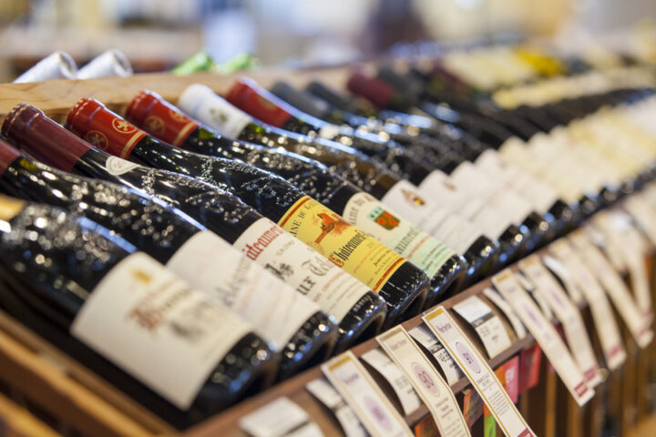 France 44 (wine selection pictured) in Minneapolis had only done in-person tastings prior to the pandemic, but the store says its virtual events have been so popular that they will increase the frequency in 2021.