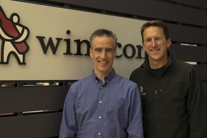 Virtual tastings by Wine.com (founder Mike Osborne and CEO Rich Bergsund pictured) have been extremely popular during the Covid-19 pandemic, reaching more than 30,000 households in just four weeks.