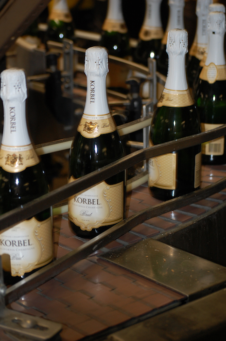 At Pennsylvania Liquor Control Board's Fine Wine & Good Spirits stores, bestselling sparkling wine brands in 2020 included Korbel (pictured) and La Marca Prosecco, among others.
