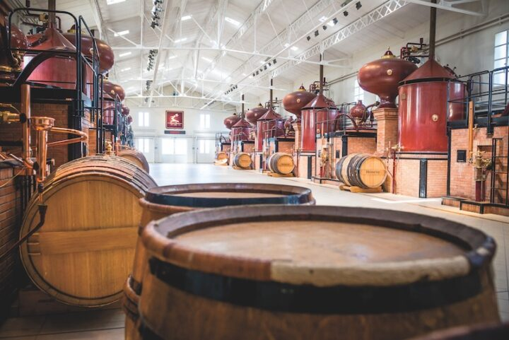 Cognac's star continues to rise in the U.S. Stalwart brand Hennessy (barrels pictured) has consistently increased its market share even as newer brands grow.