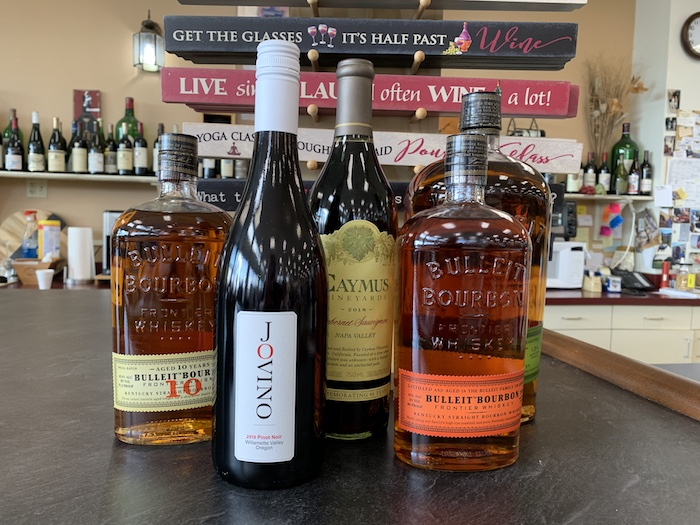 At Arrow Wine & Spirits in Ohio (supply pictured), Bourbons and Cabernet Sauvignon are still going strong, and supply issues from 2020 are expected to work themselves out soon.