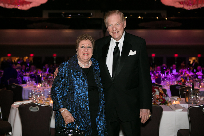 Bill Deutsch (pictured top with wife, Fran) was honored with Wine Spectator's Distinguished Service Award in 2009 at the New York Wine Experience.