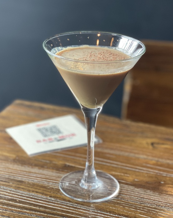 At Newton, Massachusetts' Baramor restaurant and bar, popular coffee spirit cocktails include the Pep In Your Step (pictured), made with Patrón XO Café liqueur.