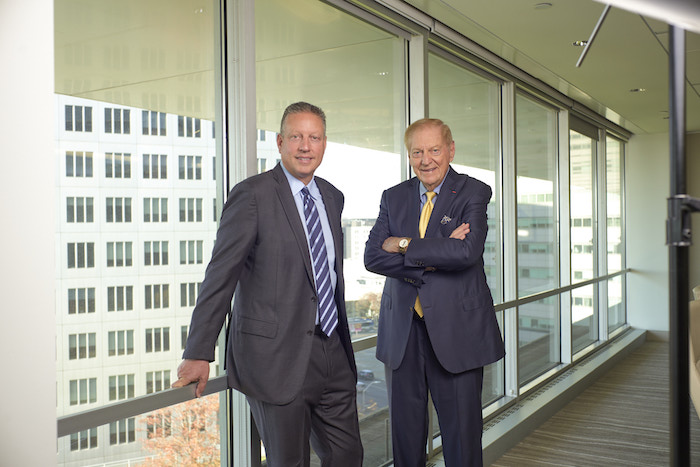 Chairman Bill Deutsch (right) founded Deutsch Family Wine & Spirits in early 1981. His son Peter (left) joined the company in 1985 and now serves as CEO.