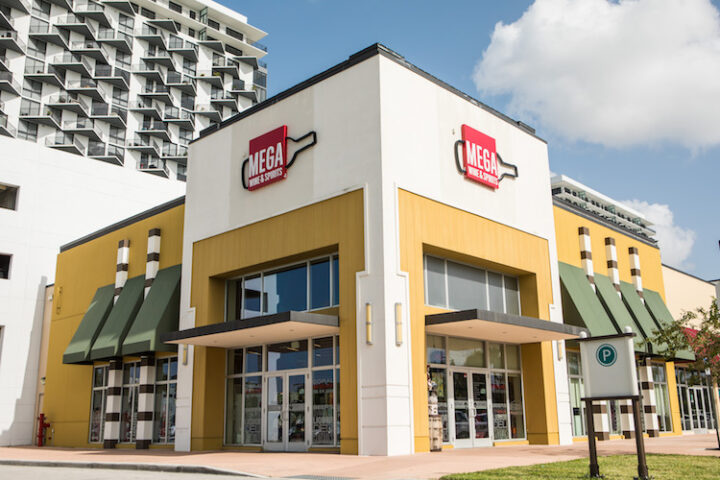 Mega Wine & Spirits (Doral, Florida unit pictured) has worked to keep pace with the growth in the greater Miami area, adding nine stores over the last six years and planning new units.