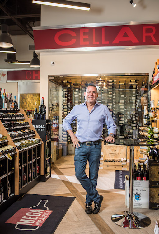 General manager Manny Garcia (pictured) began his career with Mega Wine & Spirits upon its inception in 2001, and has seen the chain through transitions, including its acquisition by Javier Macedo in 2014.