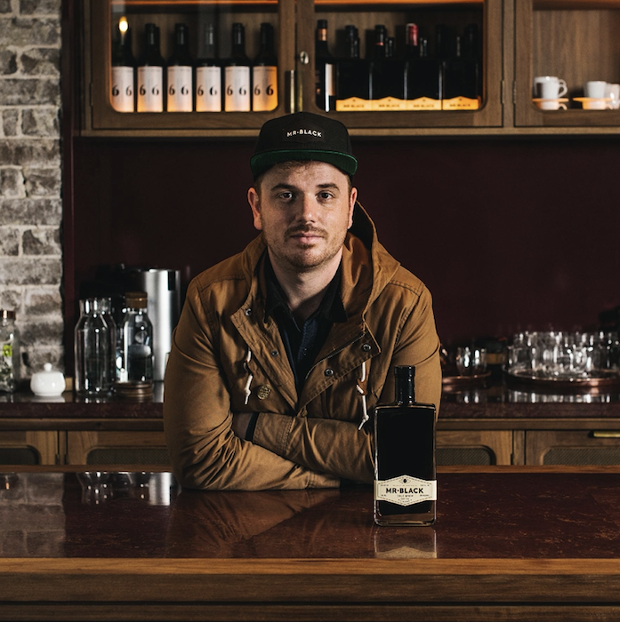 Australia-based Mr. Black coffee liqueur (founder Tom Baker pictured) looks to capture the terroir of coffee with offerings from specific regions like Colombia and Ethiopia.