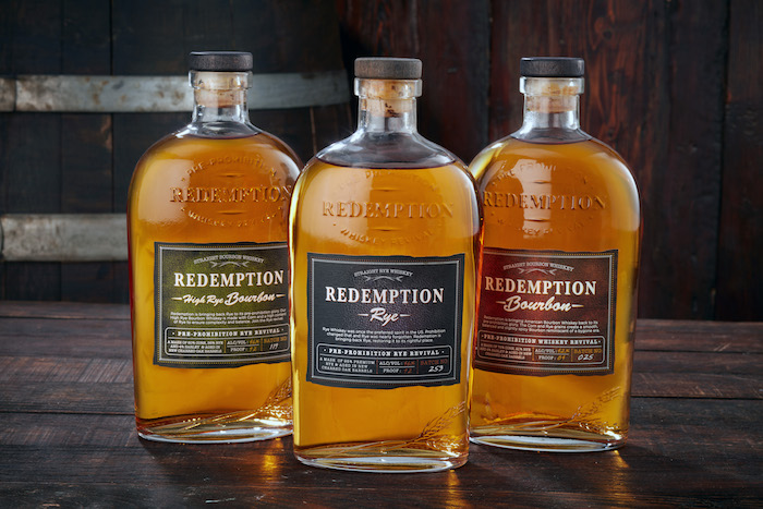 Deutsch moved into the spirits world in 2010. Amid the whiskey boom, the company acquired the Redemption brand (above) in 2017.