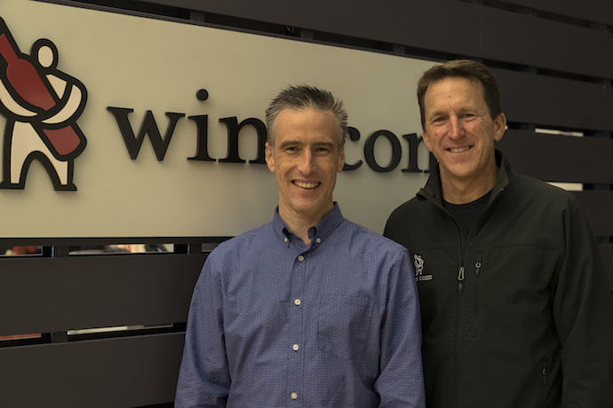After making its name shipping wine, Wine.com (founders Mike Osborn and Rich Bergsund pictured) gained its first license to ship spirits in California in February 2020. The company saw an immediate boost as the Covid-19 pandemic shut down the state in March.