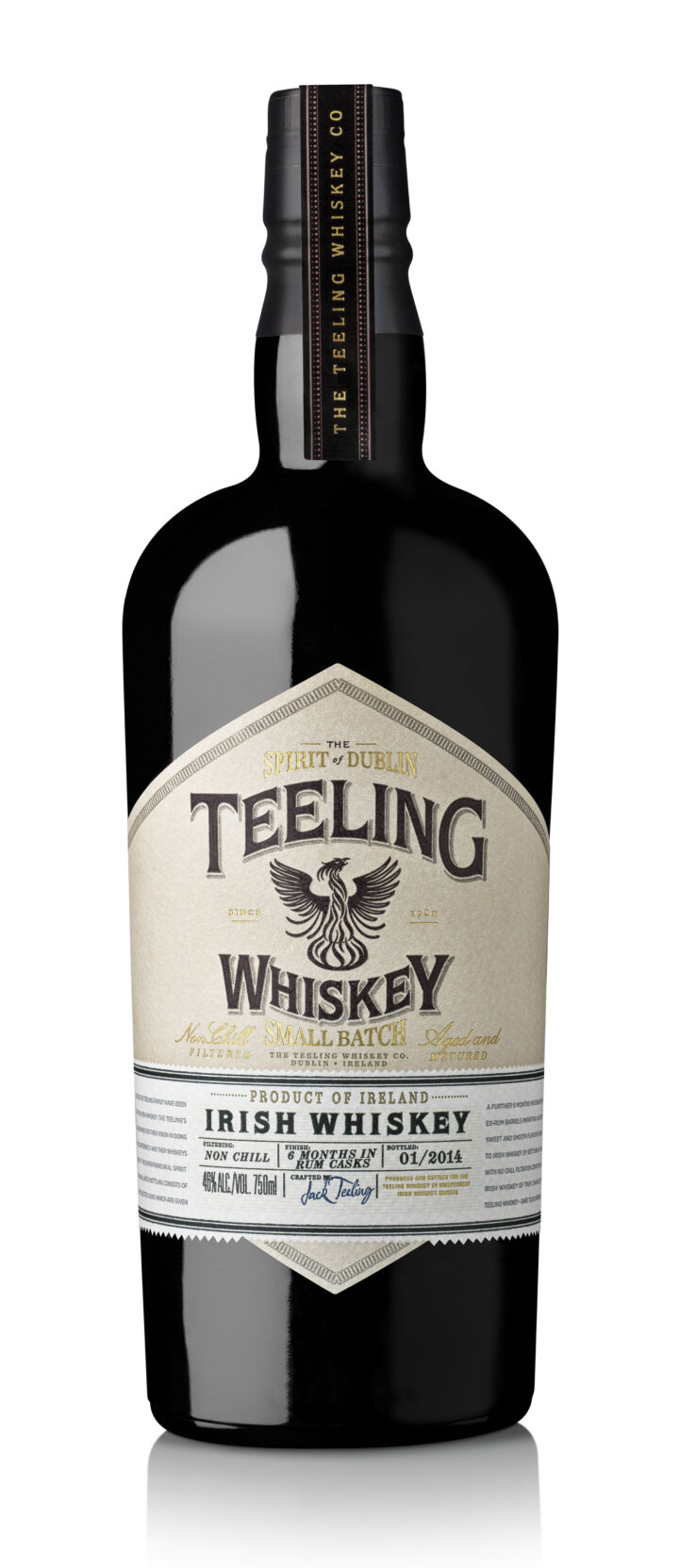 Irish whiskey growth is being driven by higher-end, unique brands such as Teeling, which specializes in single pot still whiskey.