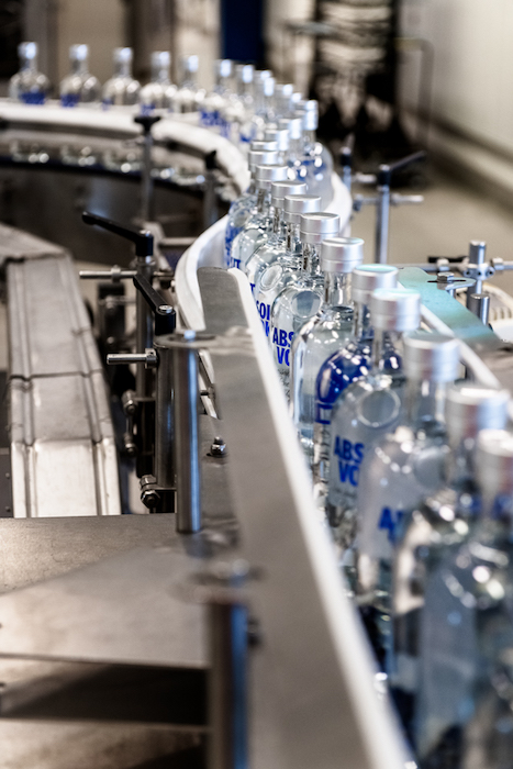 s imported vodka continues working to regain consumer favor, Pernod Ricard-owned Absolut vodka (bottling life pictured) saw growth in 2020 that mirrored its 2019 losses, giving hope for a turnaround. The brand's recent innovation, Absolut Juice, is driving its growth.
