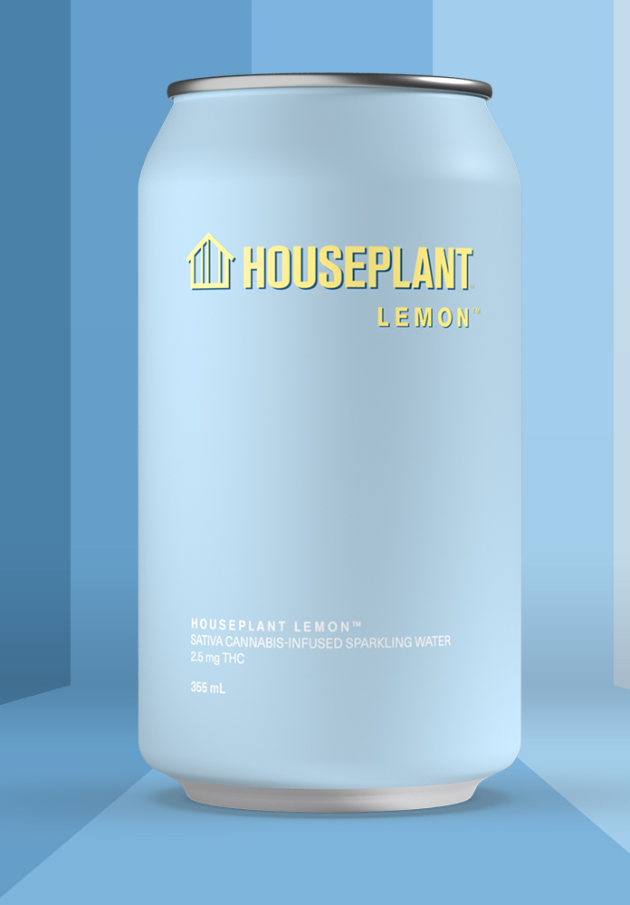 Houseplant (lemon flavor pictured), created in partnership with actor and comedian Seth Rogen and writer Evan Goldberg, was released in May 2020, and entered the U.S. market in March 2021.