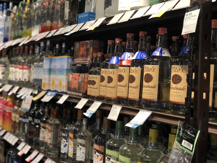 When the Covid-19 pandemic hit a year ago, retailers across the country were forced to move much of their operations online. Florida's ABC Fine Wine & Spirits (vodka shelves pictured) remains focused on e-commerce with contactless curbside pick-up and delivery options.
