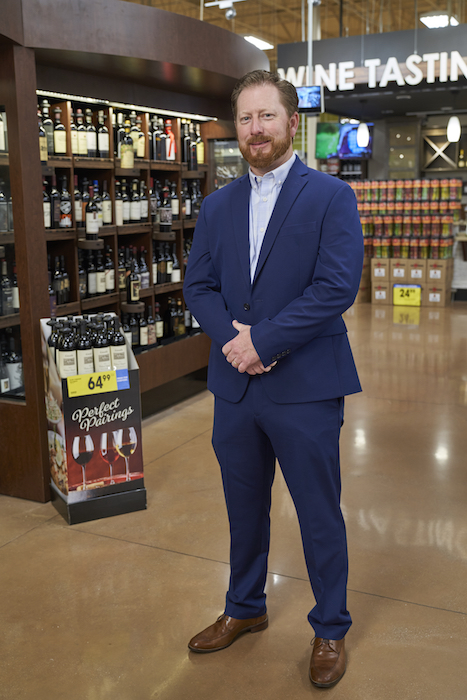 Kroger's director of adult beverage Jason Milburn (pictured) has noticed an uptick in sales for tried-and-true wine brands, especially those available in a variety of packaging formats.