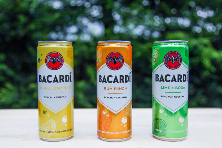 Bacardi's Real Rum Cocktails aim to introduce new consumers to rum while also capturing some of the hard seltzer market.
