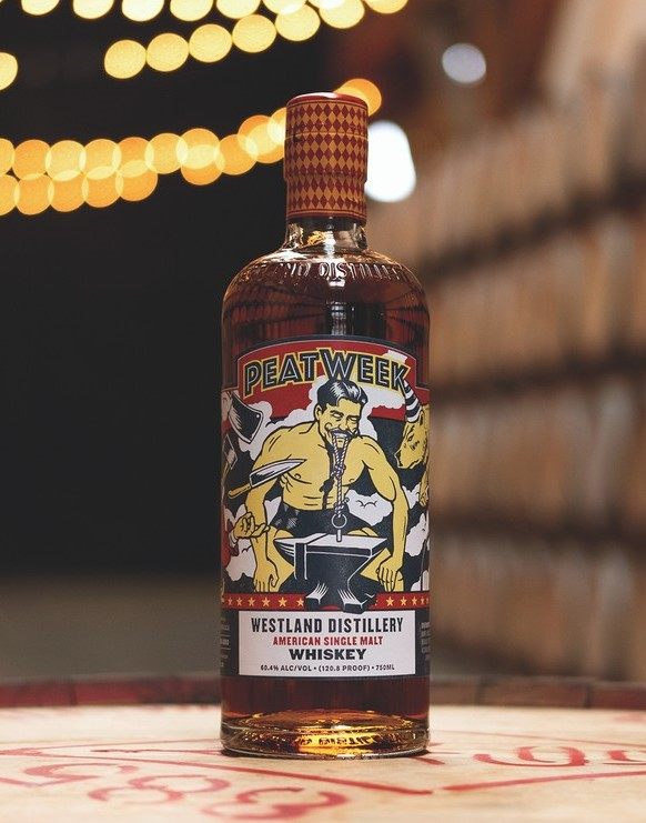 In 2016, Rémy Cointreau took ownership of Washington-based Westland Distillery (Peat Week American single malt pictured), which has pioneered the American single malt whiskey category.