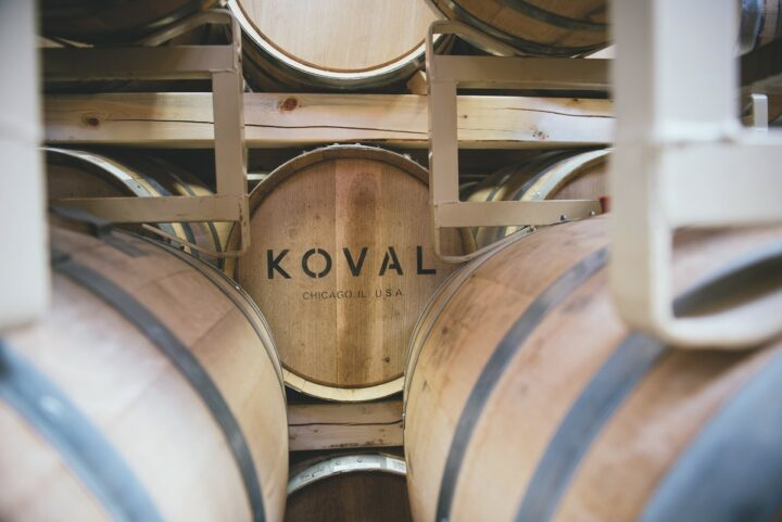 Craft distilling has weathered many storms over the past few years, from tariffs levied by the E.U. and UK to the Covid-19 pandemic. Players like Koval Distillery (barrels pictured) in Chicago are preparing to enter a post-pandemic world that requires different business strategies.