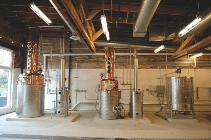 No major player has ignored the craft industry in recent years. Constellation Brands took a minority stake in Catoctin Creek Distillery (stills pictured) in 2016.
