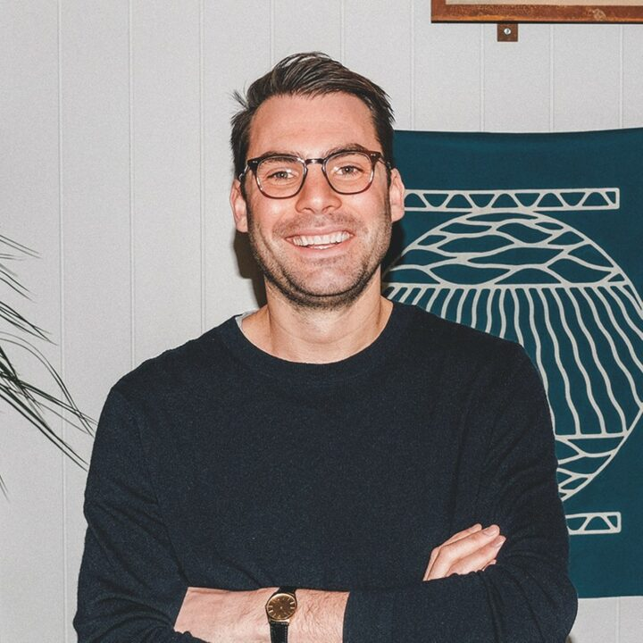 Foxtrot co-founder and CEO Mike LaVitola (pictured) says company sales doubled last year, driven by surging demand for delivery during the pandemic and the addition of its tenth store.