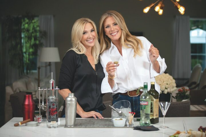 In Las Vegas, Piero's Italian Cuisine has partnered with Vegas Baby vodka (founders Jennifer Higgins and Megan Wilkes pictured) on a series of virtual happy hours.