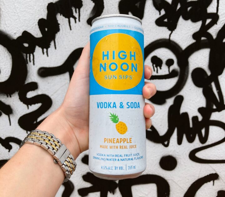 Since the pandemic began, spirits-based RTD cocktails like High Noon (pictured) have gained popularity.
