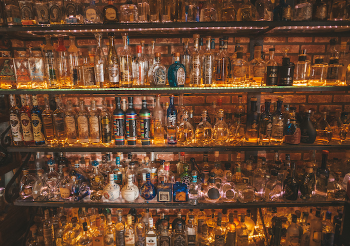 El Agave Restaurant & Tequileria in San Diego offers 400 Tequilas and mezcals, with the priciest option Revolución Oro Añejo Critstalino at $135 a 2-ounce pour.