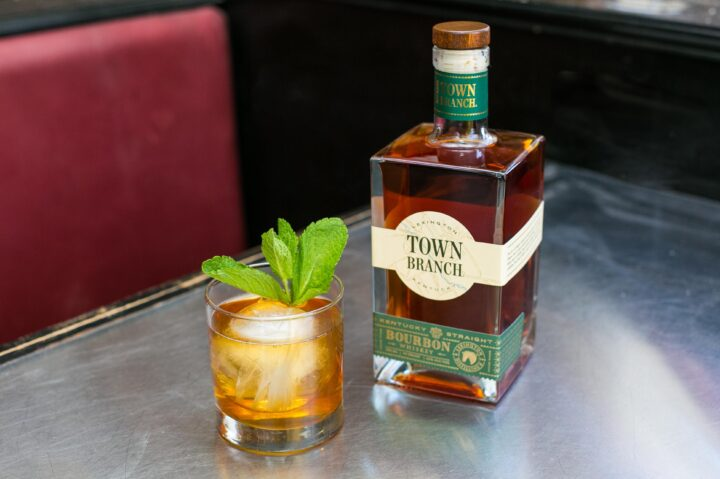 The Julep Old Fashioned (pictured), created by Freddie Sarkis of Liquor Lab in Nashville, Tennessee, features mint tea-infused Town Branch Bourbon, Demerara syrup and Angostura bitters.