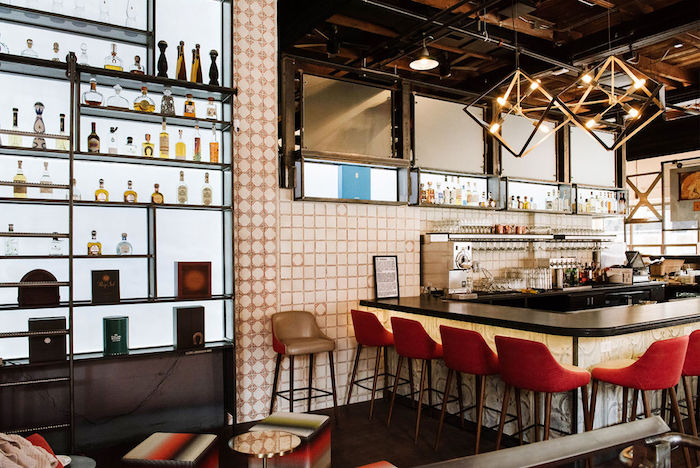 With a steady rise in Tequila's popularity, the Colorado-based Rio Grande Mexican restaurant chain (Boulder unit's high-end Tequila shelf pictured) highlights upscale offerings for adventurous consumers.