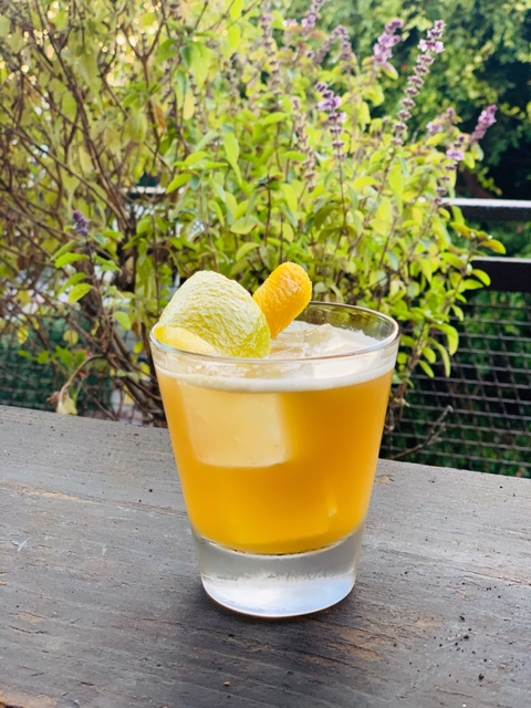 At The Eveleigh in West Hollywood, California, the Iced Sherry Tea combines Earl Grey tea-infused Lustau Los Arcos Amontillado Sherry with Evan Williams Bourbon, and bergamot bitters.