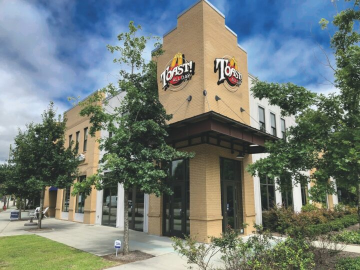 Charleston Hospitality Group plans to take its five-unit breakfast and brunch concept, Toast (Mount Pleasant, South Carolina pictured), nationwide this year via a franchise model.