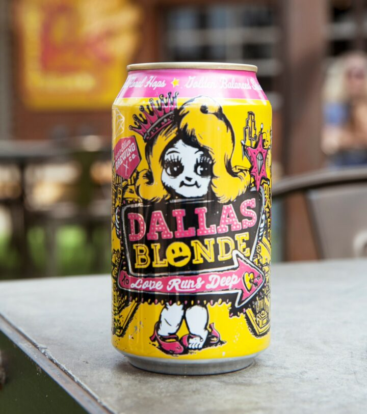 Deep Ellum Brewing's Dallas Blonde (pictured) is a category leader at Biagio Wine & Spirits in Dallas.