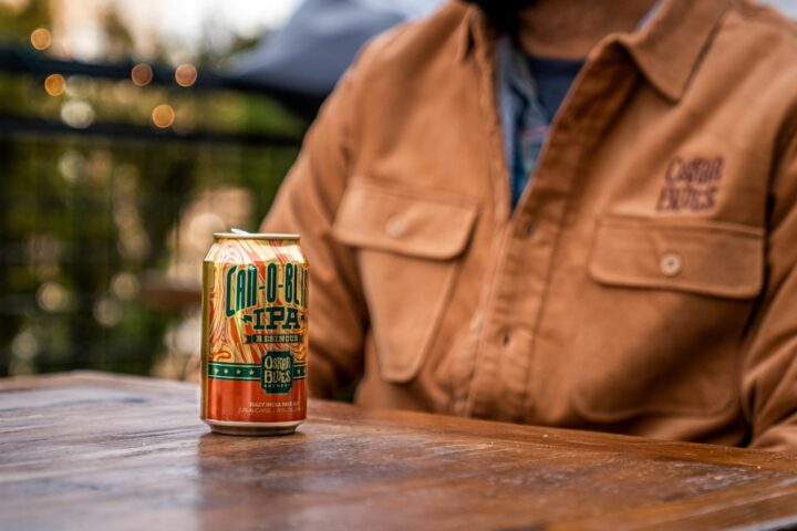 Longmont, Colorado-based Oskar Blues Brewery is a canned beer pioneer (Can-O-Bliss Resinous IPA pictured) and has seen a significant shift toward the format over the past five years.