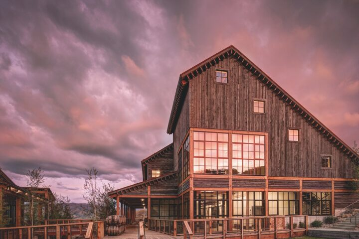 With two locations in Utah, High West (Blue Sky Ranch distillery pictured) is taking its High Country American single malt nationwide by the end of this year. The whiskey debuted in 2019 and has been a distillery-exclusive release up to now.