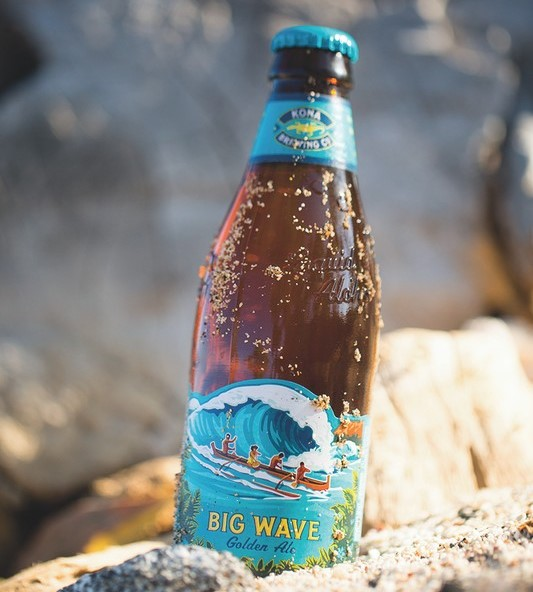 Though IPAs still dominate the craft space, consumer fatigue is leading to a surge in popularity for lighter styles like blonde and golden ales, such as Kona Big Wave golden ale (pictured).