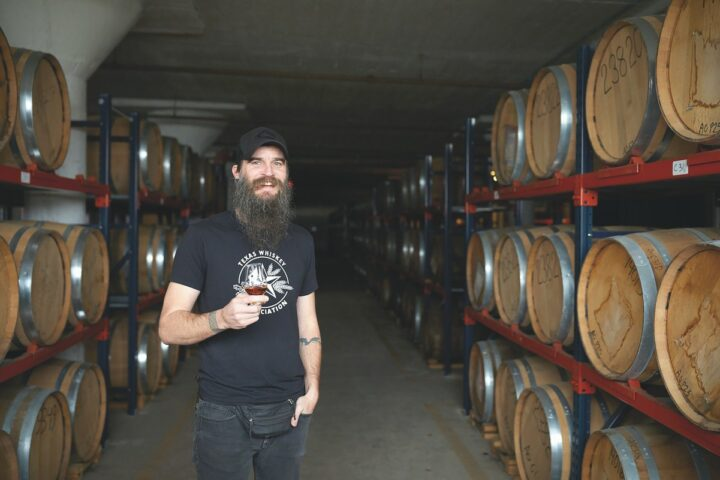 Waco, Texas-based Balcones Distilling (master distiller Jared Himstedt pictured) has augmented the American single malt category with unique releases that express a sense of regionality.