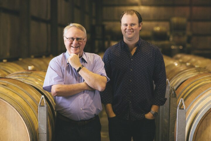 Iconic Australian producer Tyrrell's (managing director Bruce Tyrrell and COO Chris Tyrrell pictured) is returning to prominence thanks to its focus on Sémillon.