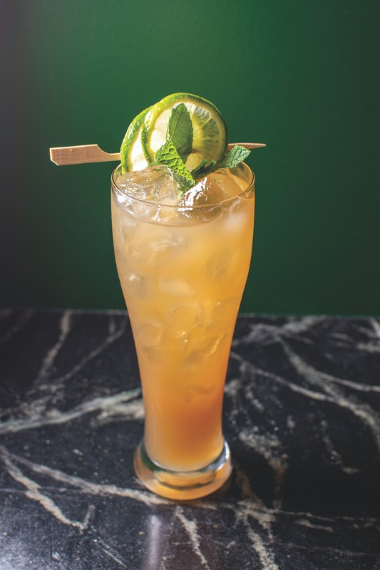 At Sobre Mesa in Oakland, California, rum features heavily on the drinks menu. The venue offers 50 rums from around the globe, as well as specialty drinks like its eponymous Sobre Mesa (above).